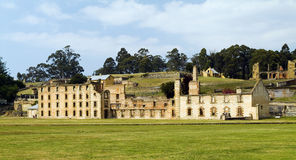 Historisches Port Arthur Stockbilder