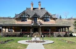 Historisches Ranch-Haus des 19. Jahrhunderts Lizenzfreie Stockfotos