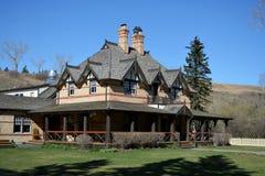 Historisches Ranch-Haus des 19. Jahrhunderts Lizenzfreie Stockbilder