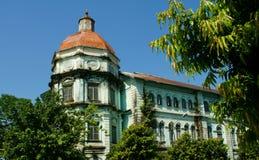 Historisches Rangun-Abteilungs-Gericht Stockfotos