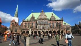 Historisches Rathaus in Bremen, Deutschland stock video