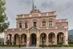 Historisches Rathaus-Gebäude von Parramatta, Australien lizenzfreie stockfotografie
