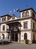 Historisches Rathaus in Gran Canaria, Spanien stockfotos
