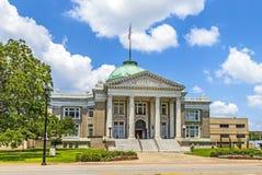 Historisches Rathaus in Lake Charles Lizenzfreie Stockfotos
