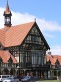 Historisches Rotorua Bad-Haus Stockbilder