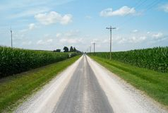 Historisches Route 66, Illinois, USA stockfoto