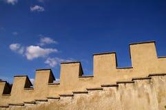 Historisches Schloss in Karlstein Lizenzfreie Stockfotos