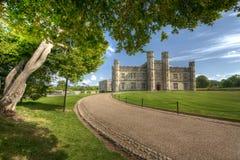 Historisches Schloss in Leeds Kent Lizenzfreies Stockbild