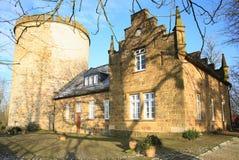 Historisches Schloss Ravensberg in Borgholzhausen, Westfalen, Deutschland Lizenzfreies Stockbild
