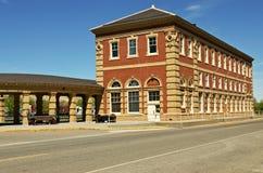 Historisches Serien-Depot Stockfoto