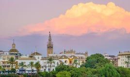 Historisches Sevilla Stockfoto