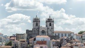 Historisches Stadtzentrum Oporto, Portugal Lizenzfreie Stockfotos