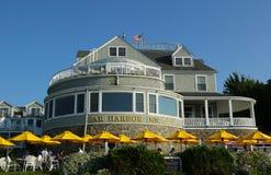 Historisches Stangen-Hafen-Gasthaus im Stangen-Hafen, Maine Lizenzfreie Stockfotos