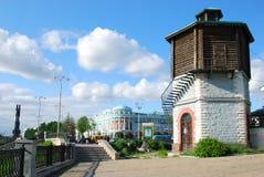 Historisches Teil von Yekaterinburg, Russland stockbilder
