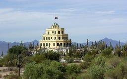 Historisches Tovrea Schloss, Phoenix AZ Stockbilder