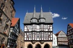 Historisches townhall von Alsfeld in Hessen (Deutschland) Lizenzfreie Stockfotos