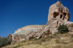 Historisches und natürliches Meisterwerk Cappadocia Lizenzfreies Stockfoto