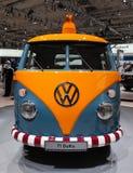 Historisches VW T1 DoKa lizenzfreies stockfoto