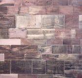 Historisches Wanddetail des Freiburg-Münsters Stockbild