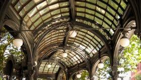 Historisches Zustands-Wartehäuschen in Seattle Washington Lizenzfreies Stockbild