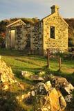 Historisk ångareterminal, Argyll, Skottland Royaltyfria Bilder