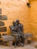 Historisk Aguimes stad Gran Canaria Spanien Arkivfoto