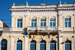 historisk amparobyggnad Royaltyfria Foton
