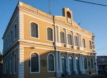 historisk amparobyggnad Royaltyfri Bild