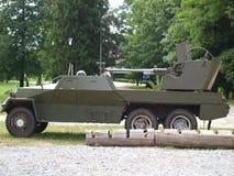 Historisk anti--flygplan kanon Royaltyfri Foto