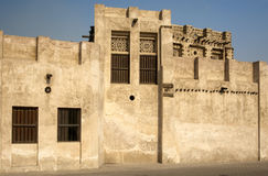 Historisk arabisk fort Arkivfoto