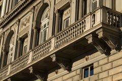 historisk arkitektur Arkivfoto
