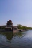 Historisk arkitektur av Peking Arkivbild