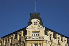 Historisk arkitektur av Punta Arenas, Chile Arkivfoton