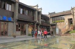 Historisk arkitektur Guilin Kina för östlig västra gata Royaltyfri Foto