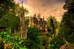 Historisk arkitektur i botaniska trädgården Royaltyfri Fotografi