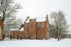 Historisk arkitektur i parkera Royaltyfri Fotografi