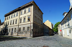 Historisk arkitektur i Prague Arkivfoton
