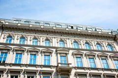 Historisk arkitektur i Wien Royaltyfri Bild