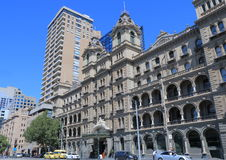Historisk arkitektur Melbourne Royaltyfri Fotografi