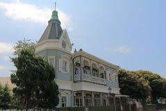 Historisk arkitektur Yamate Yokohama Japan Royaltyfria Foton