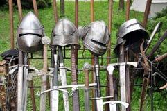 historisk armor Royaltyfri Bild