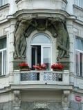 historisk balkong Royaltyfri Bild