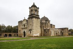 Historisk beskickning San Jose i San Antonio, Texas royaltyfri fotografi