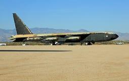 Historisk bombplan B-52 Arkivfoto