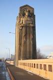 historisk bro Royaltyfri Foto