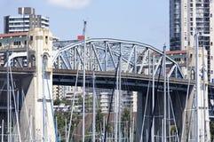 Historisk bro för Vancouver ` s Fotografering för Bildbyråer