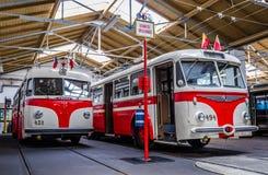 Historisk buss Royaltyfri Bild