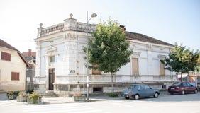 Historisk byggnad Aleksinac, Serbien Fotografering för Bildbyråer