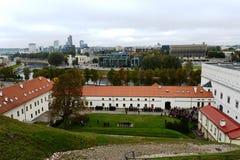 Historisk byggnad av arsenalen - en monument av historia och kultur i Vilnius royaltyfri bild
