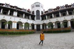 Historisk byggnad av tusen dörr Royaltyfria Foton